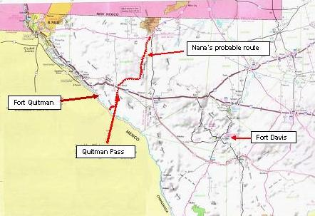 Map Of Quitman Tx.Quitman Pass And The Guadalupes Tracking Nana